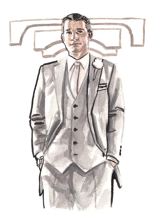 Daily Fashion Illustration Garret Prather