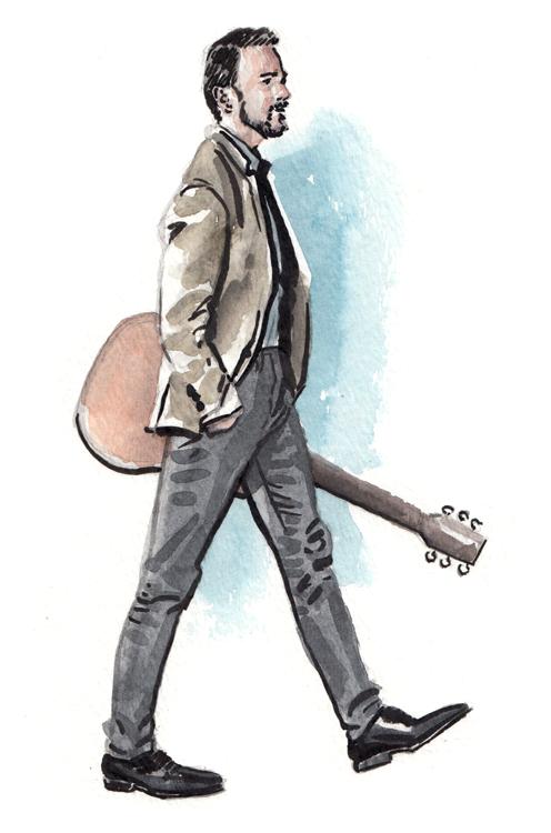 Daily Fashion Illustration Dylan Stokes