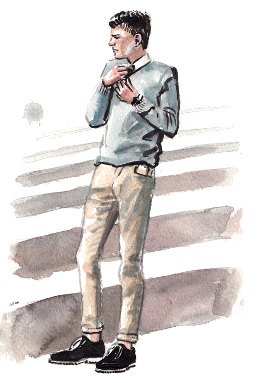 Daily Fashion Illustration Dennis Azevedo Barros