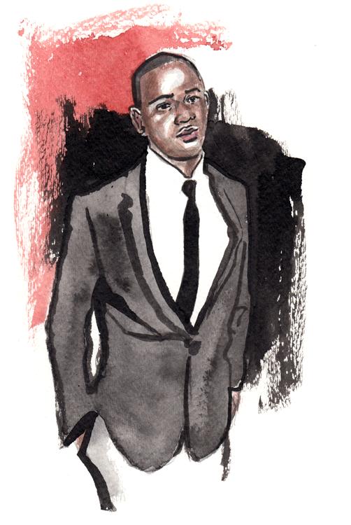 Daily Fashion Illustration Robert Dubois