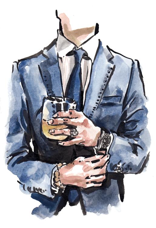 Daily Fashion Illustration, Yannick Lopez