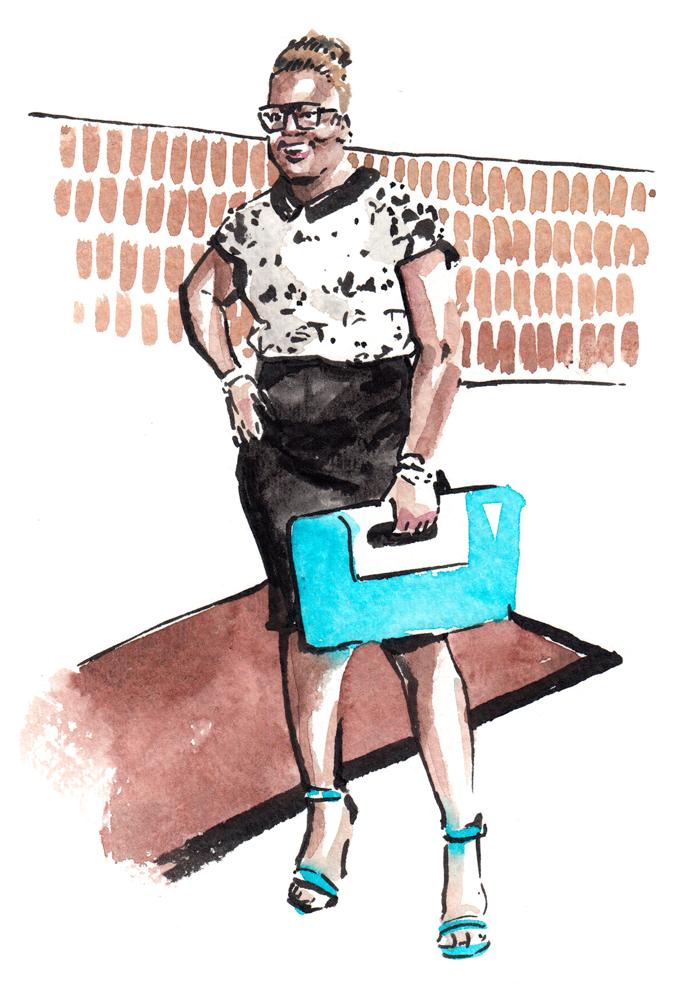 Daily Fashion Illustration 254