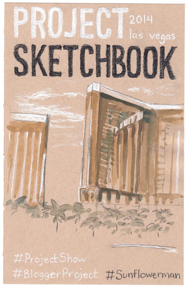 Project Sketchbook Cover Illustration
