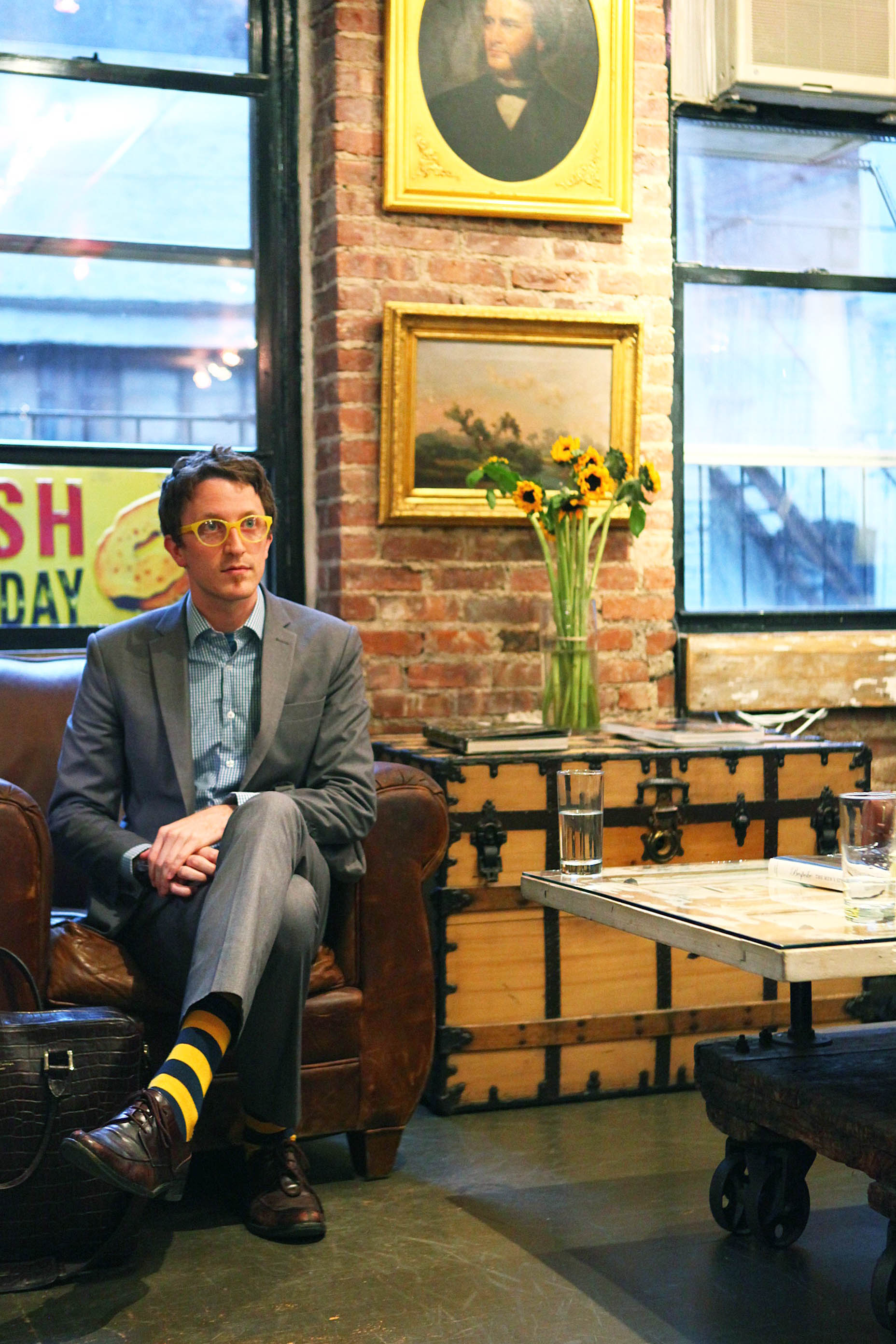 Wednesday evening I was the host of the aptly named Whiskey Wednesday at the Alexander Nash NYC studio. It was a great opportunity to meet new people and to soak in the glory that is the Alexander Nash boutique. Fashitect (Toni Tran) was able to join us and snapped this shot as a test for his own photographs.
