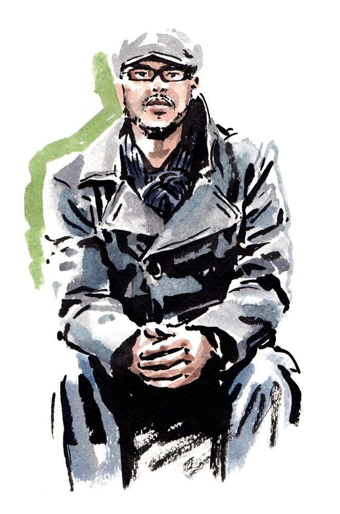 Daily Fashion Illustration, Roshard Small