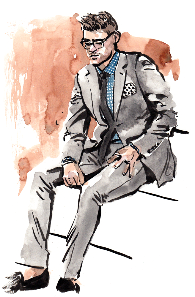 Kory Stevens fashion illustration