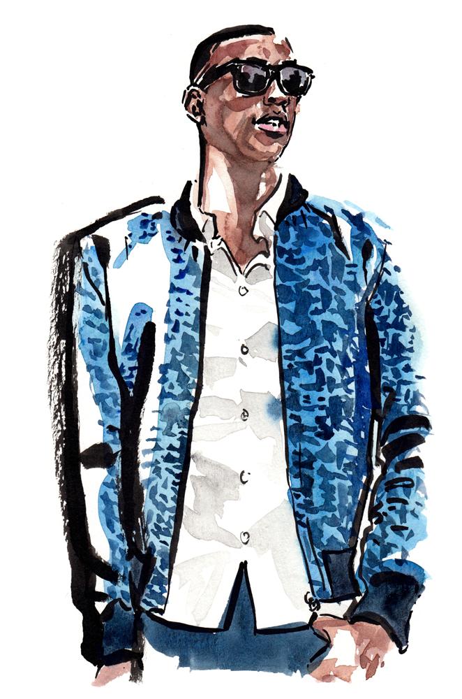 Ryan Styles NYC fashion illustration