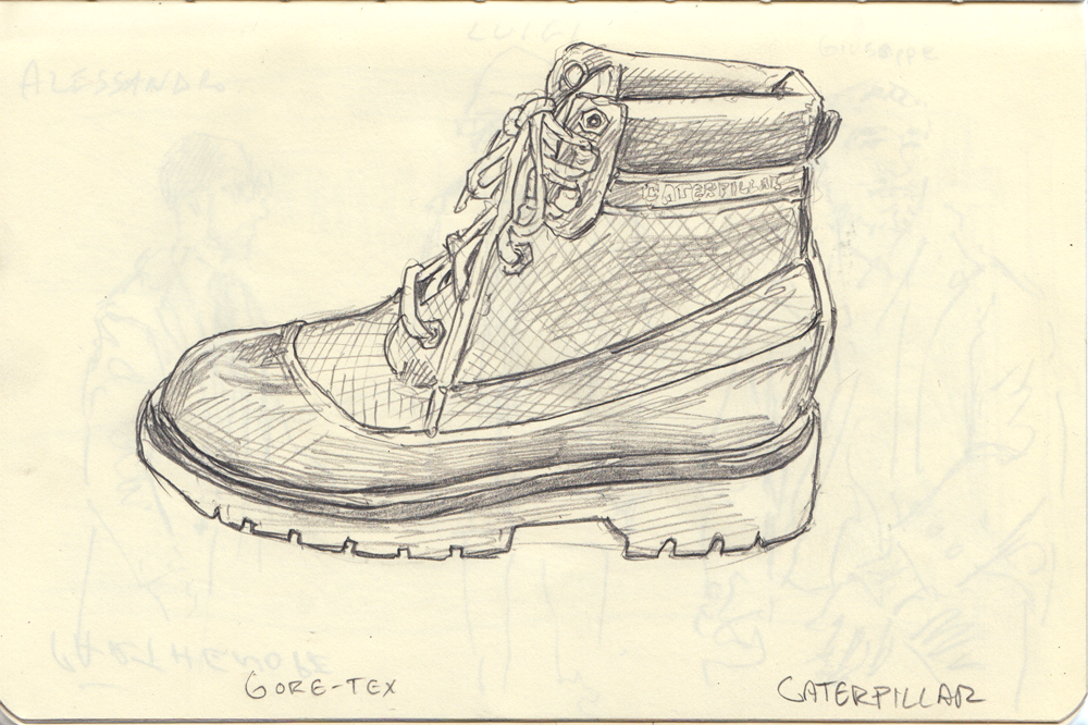 Sketch of the Colorado with Gore-Tex, from PROJECT NY.