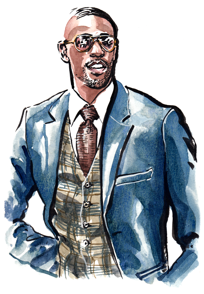 Ryan Clark of High Fashion Men on the Daily Fashion Project