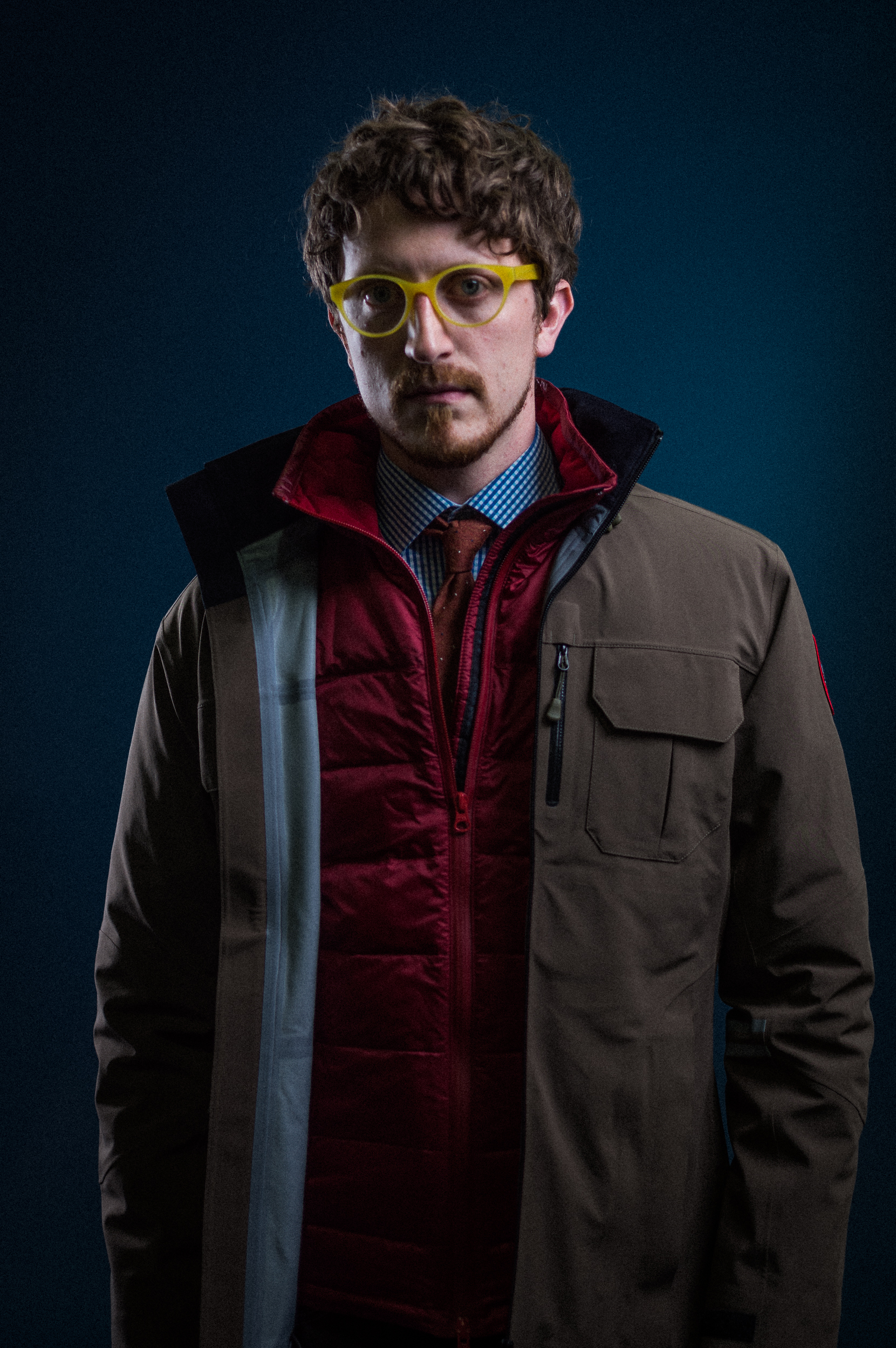 Sunflowerman in Canada Goose at PROJECT Show