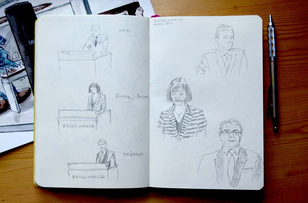 Baselworld committee sketches