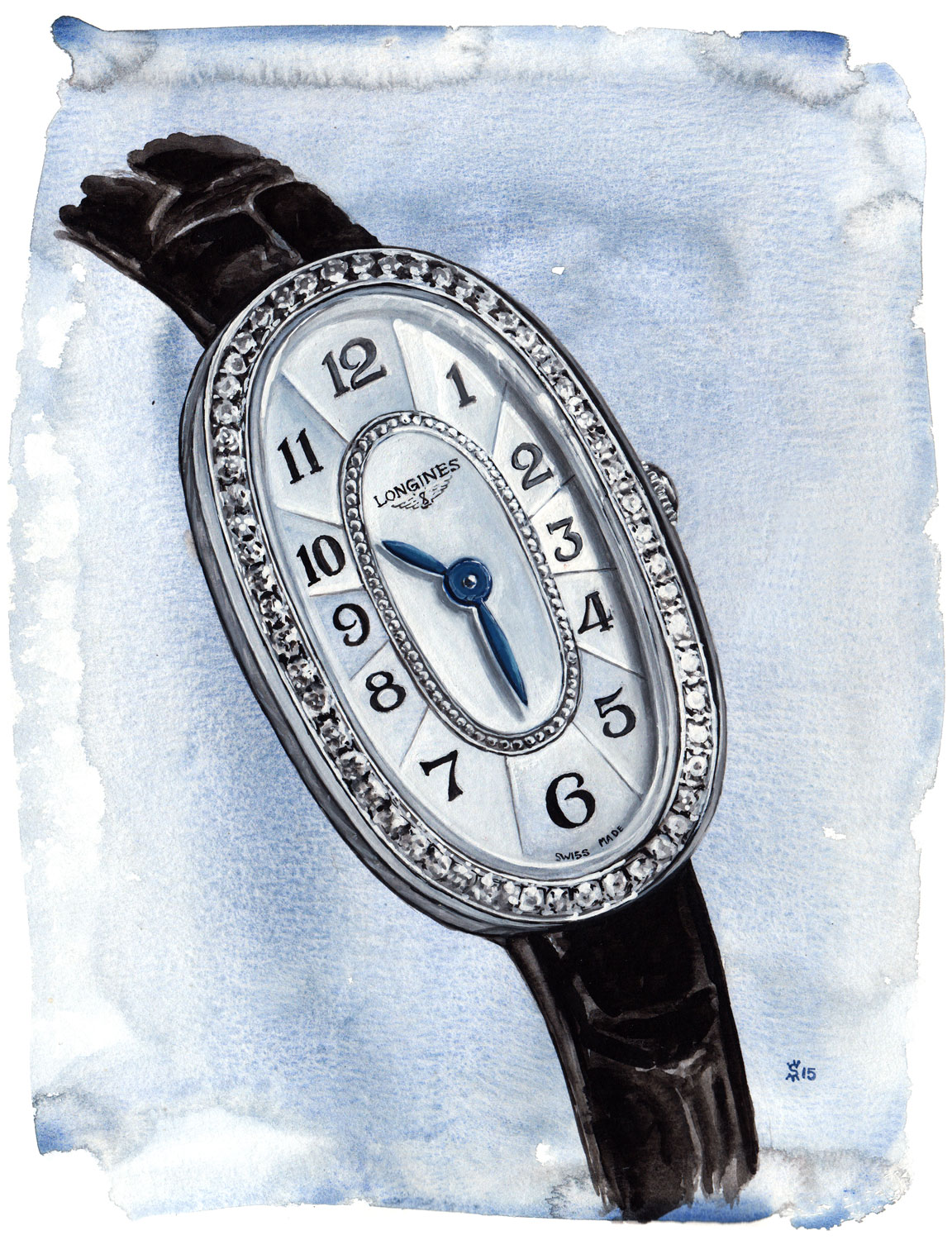 For the review of the Longines Symphonette visit  TimeandTideWatches.com .