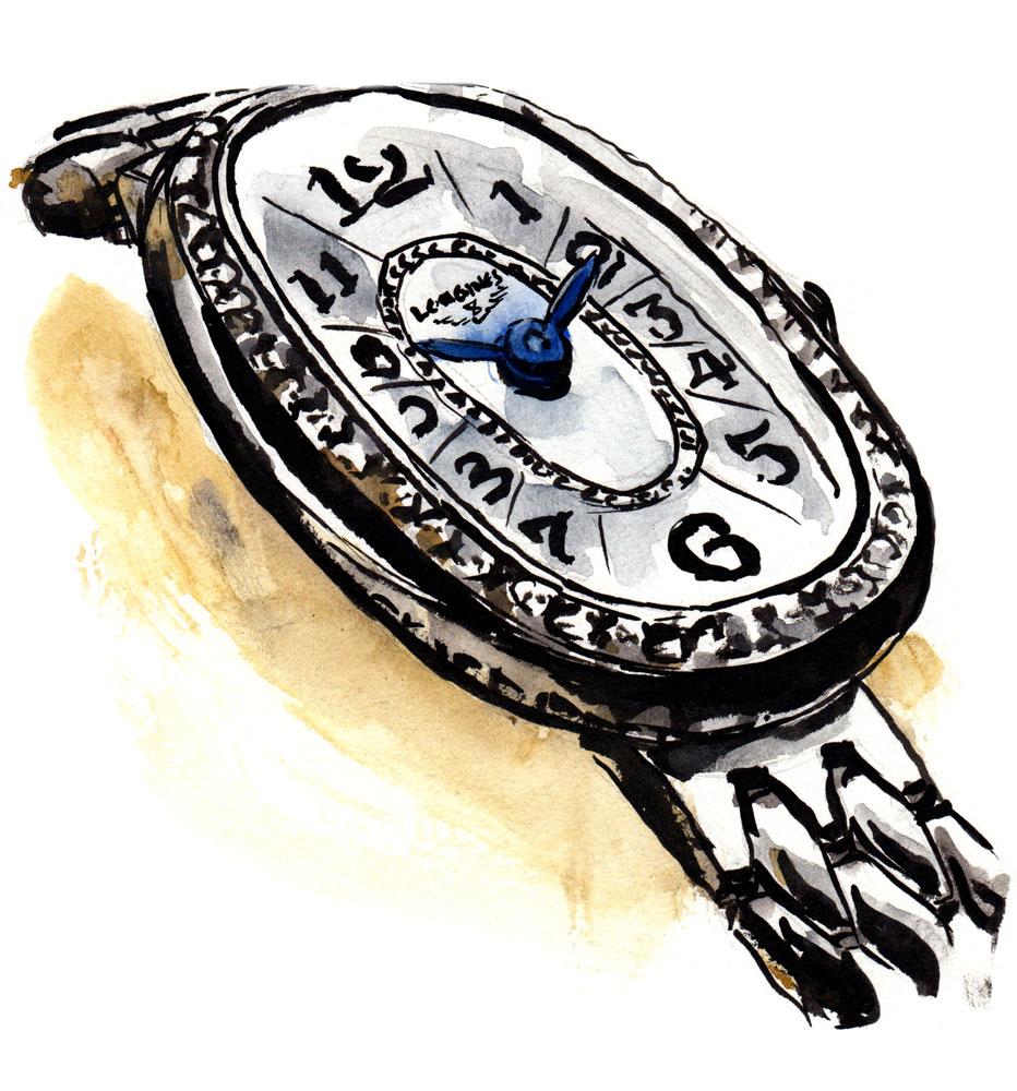 Symphonette Watch Painting