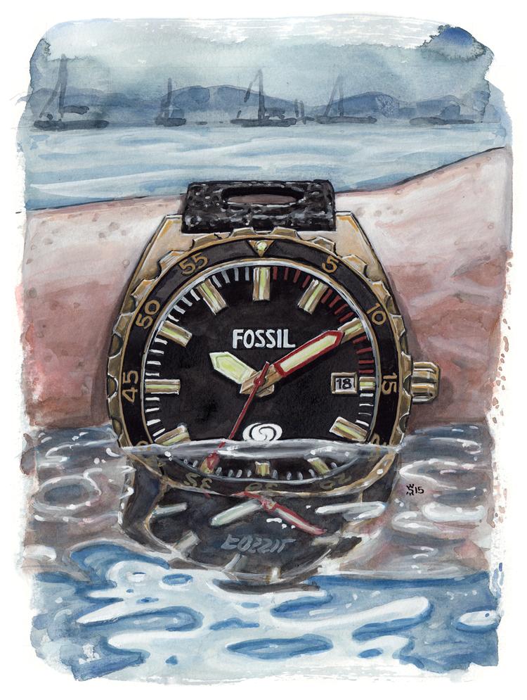 Breaker Watch painting