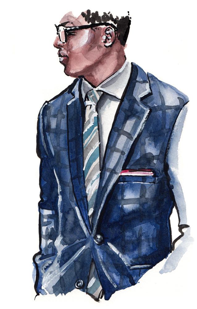 Illustration based on style by  @perkensbienaime
