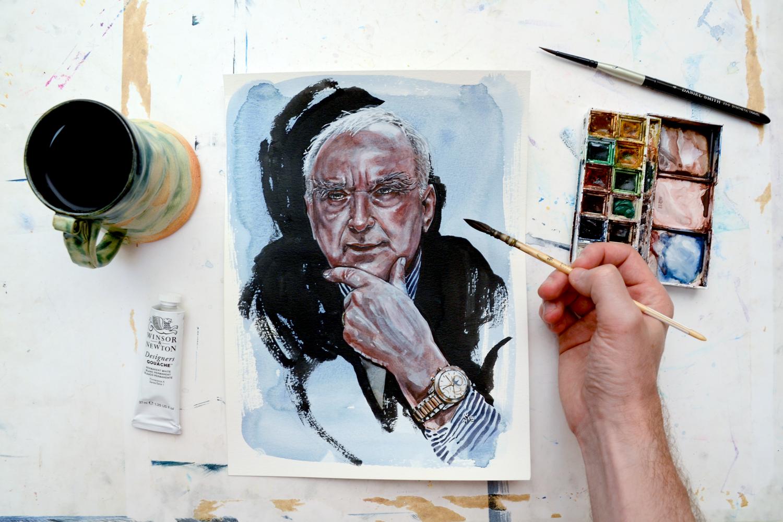 painting Walter Von Kanel