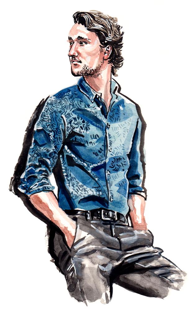 One Dapper Street fashion illustration