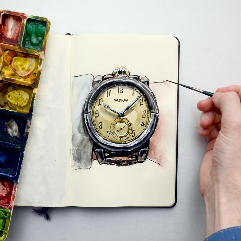 Vortic Watches timepiece