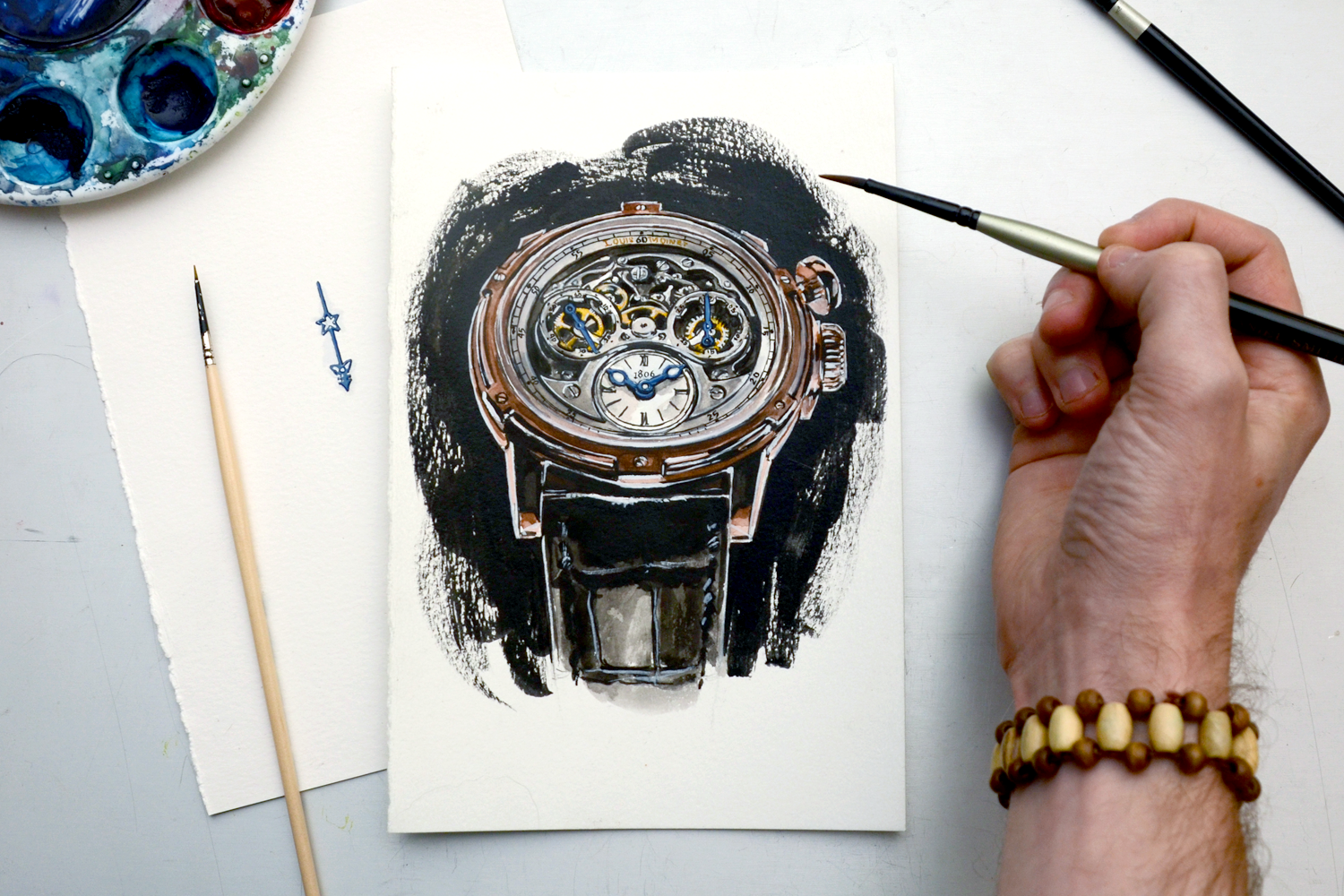 Memoris Chronograph painting