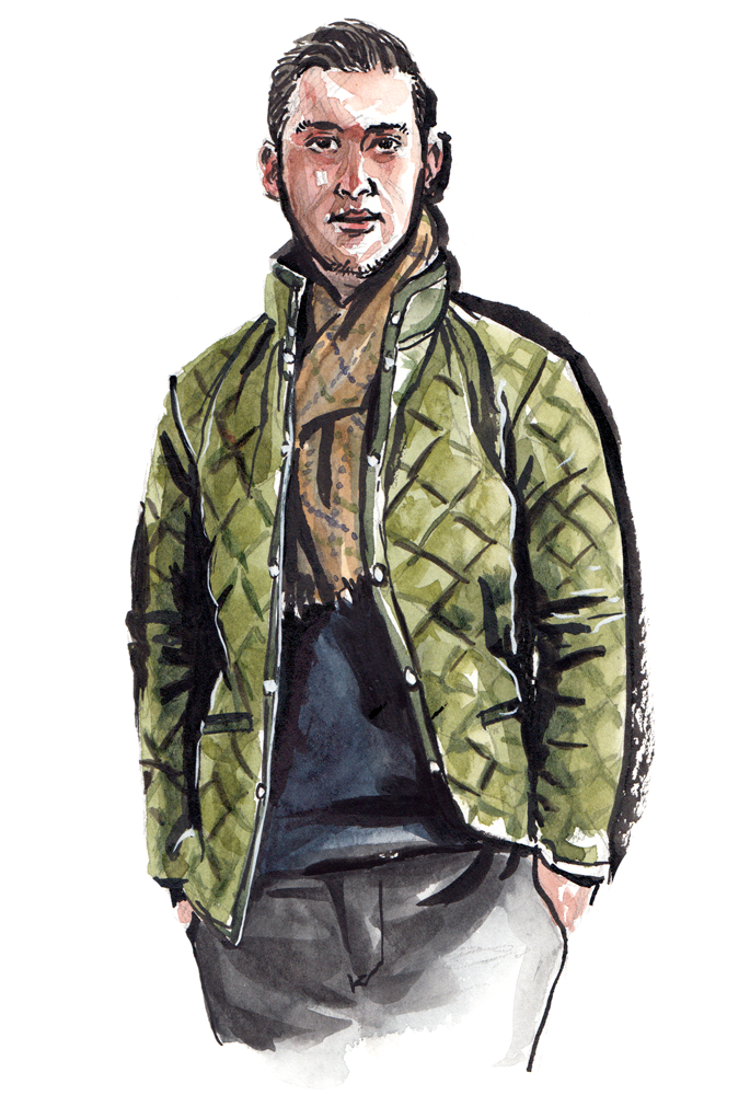 Asture Attire wearing  Lavenham Jackets