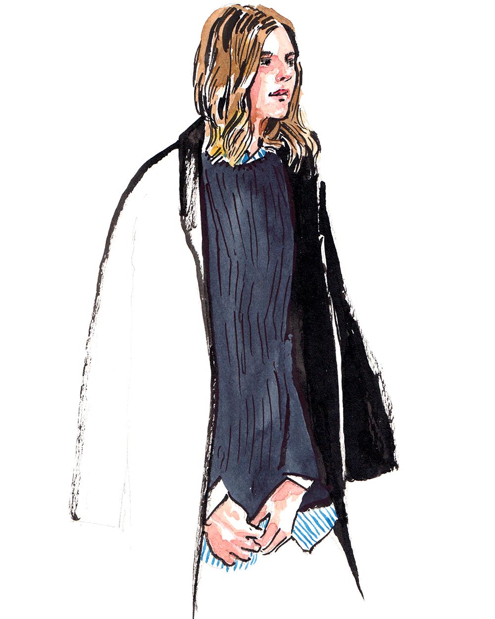 Michelle Madsen wearing  Achro