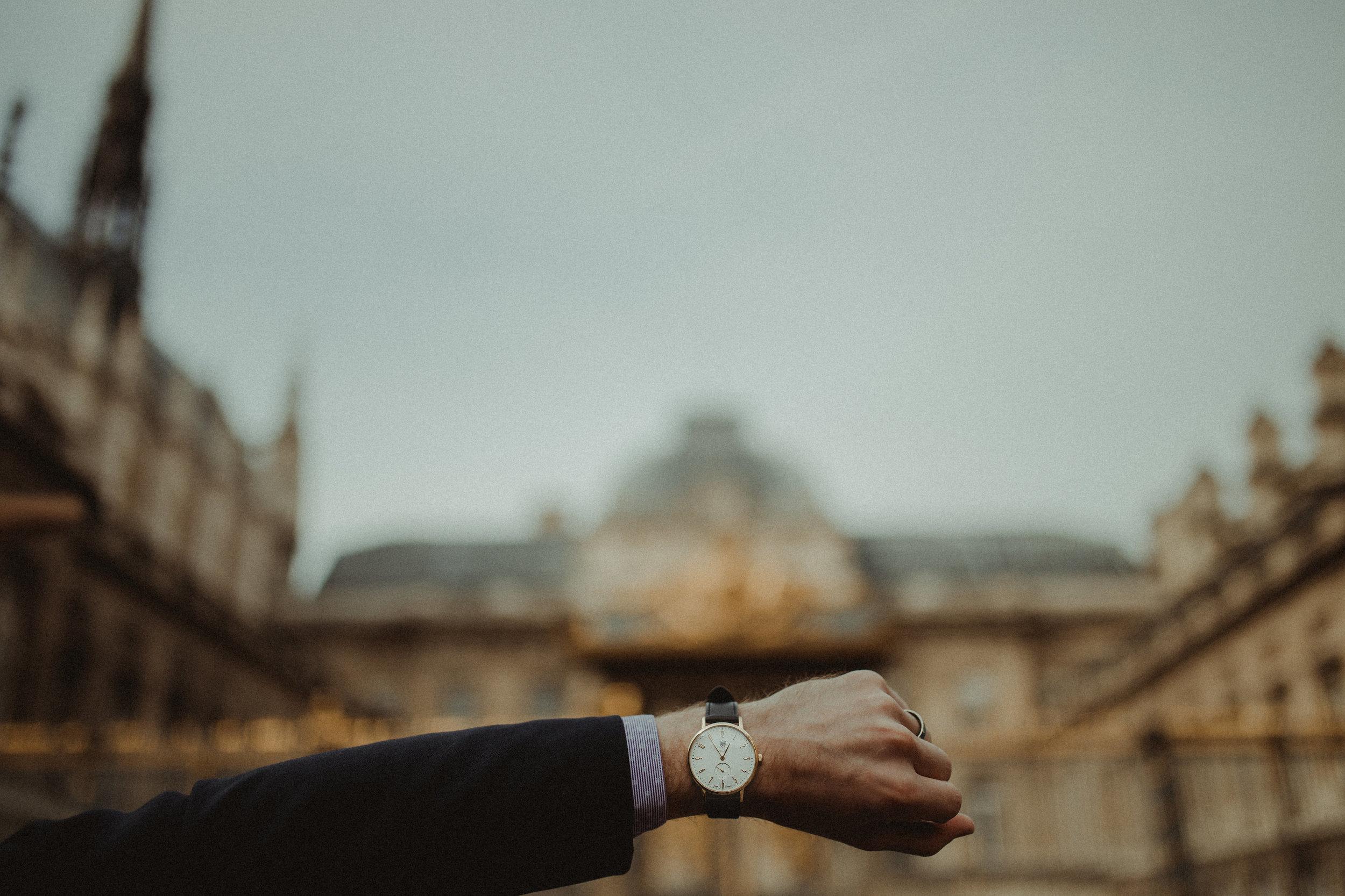 DuFa Watches Gropius Watch.Photo by  Leigh Ann Cobb Photography.