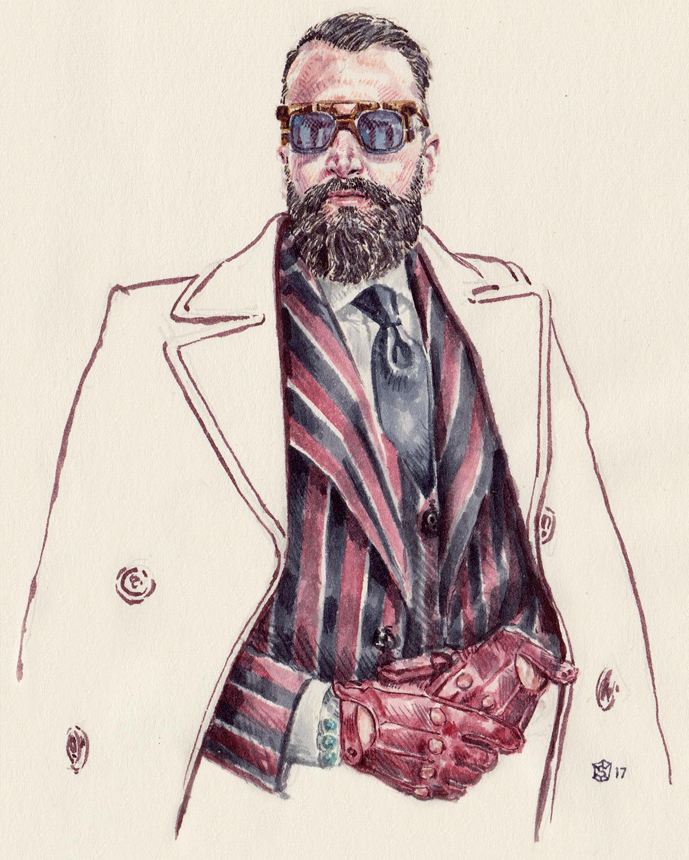Portrait Illustration of Rui Martins