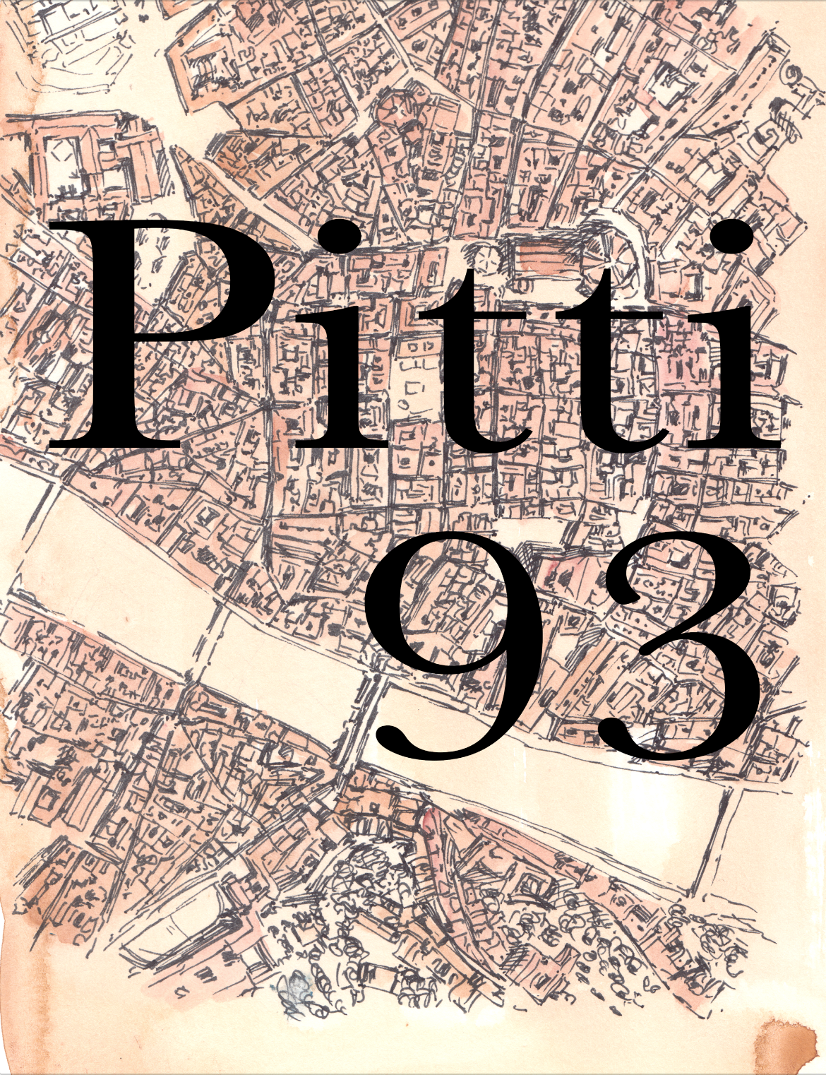 Pitti 93 Illustrated Mag. Special Edition, 'Florence Map' Cover. $100 - A Sunflowerman Project.This Magazine Publication features the style, the men and the women of Pitti Uomo, season 93.-Signed Edition-Comes with original Sunflowerman Sketch-Shipped by Sunflowerman
