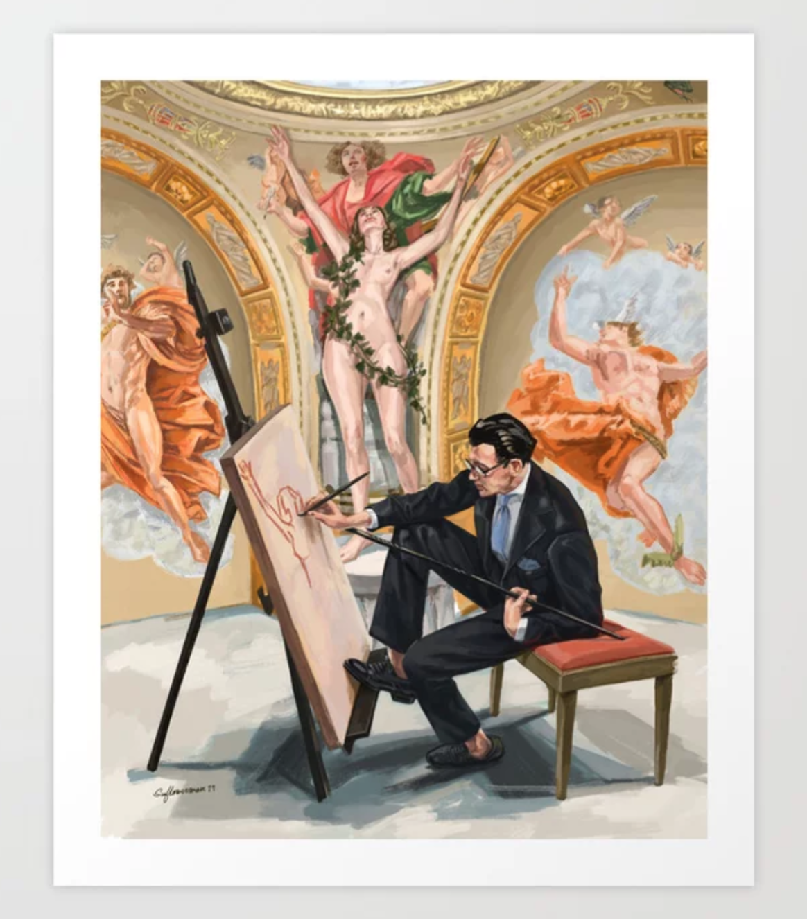 'The Artist' - With Liverano & Liverano suit styling