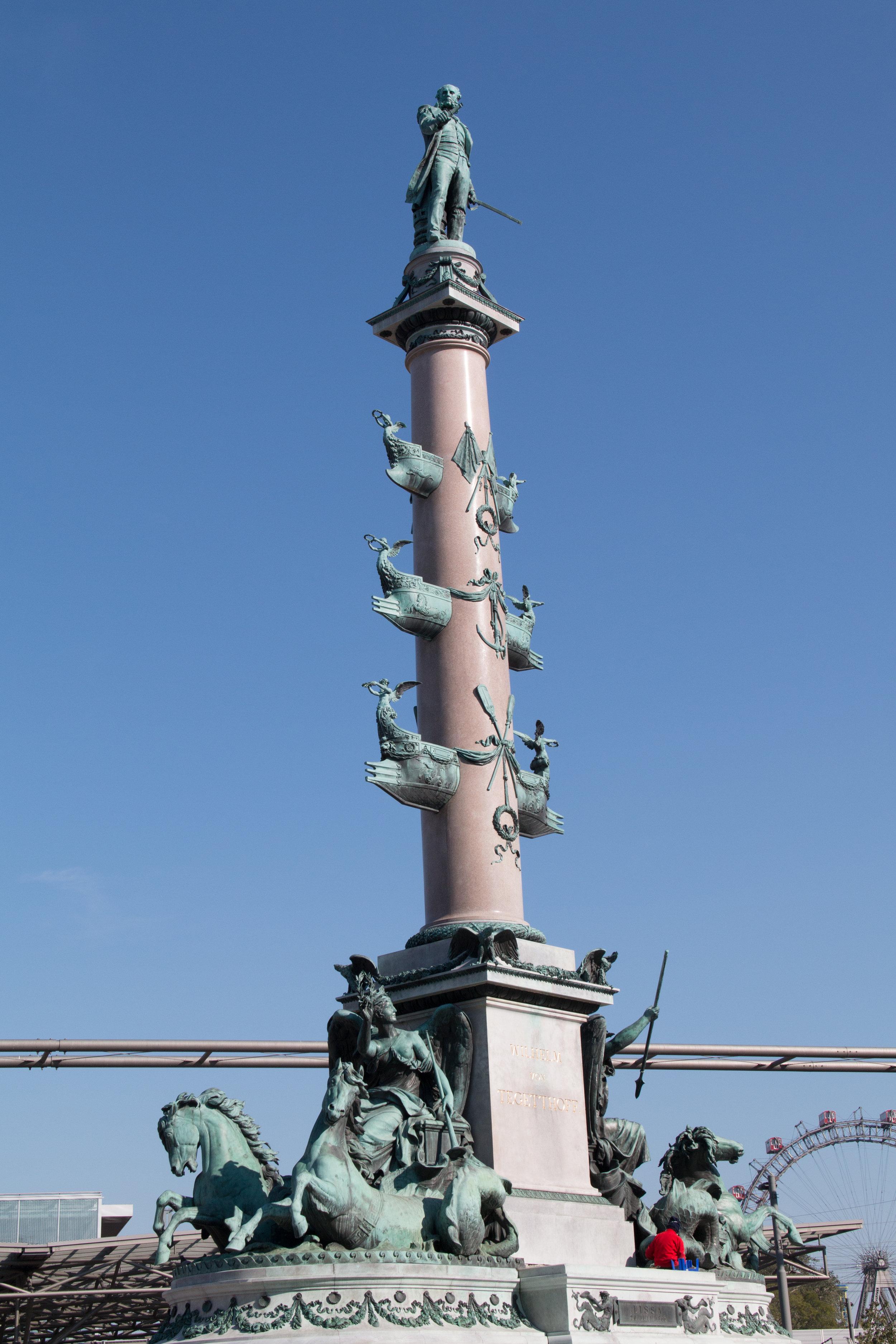 1020 Wien, Tegetthoff Denkmal   EOS 70D - F8 - 1/1000 - ISO 250