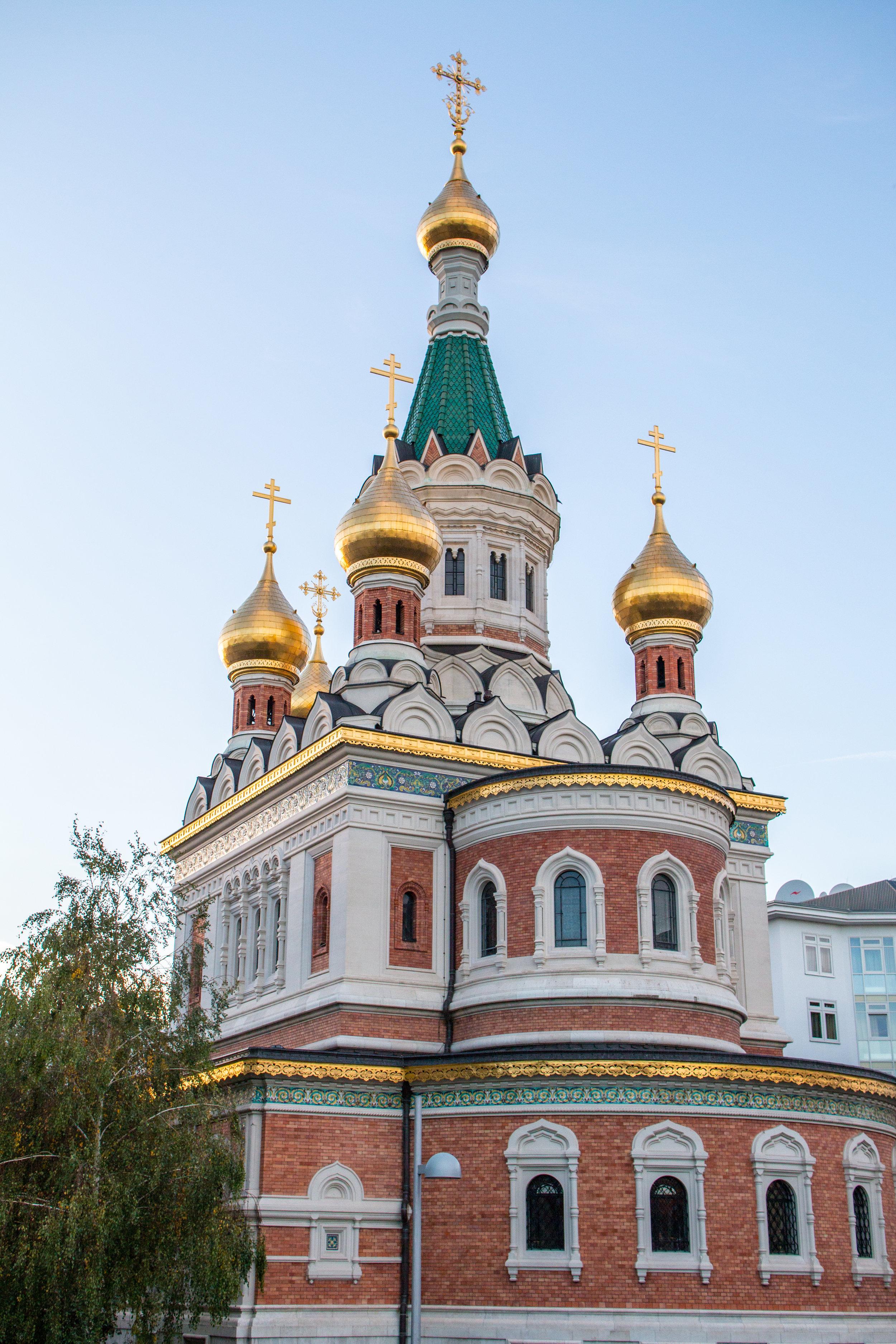 Kathedrale zum heiligen Nikolaus   EOS 70D - F/4,5 - 1/500 - ISO 250 - 28mm