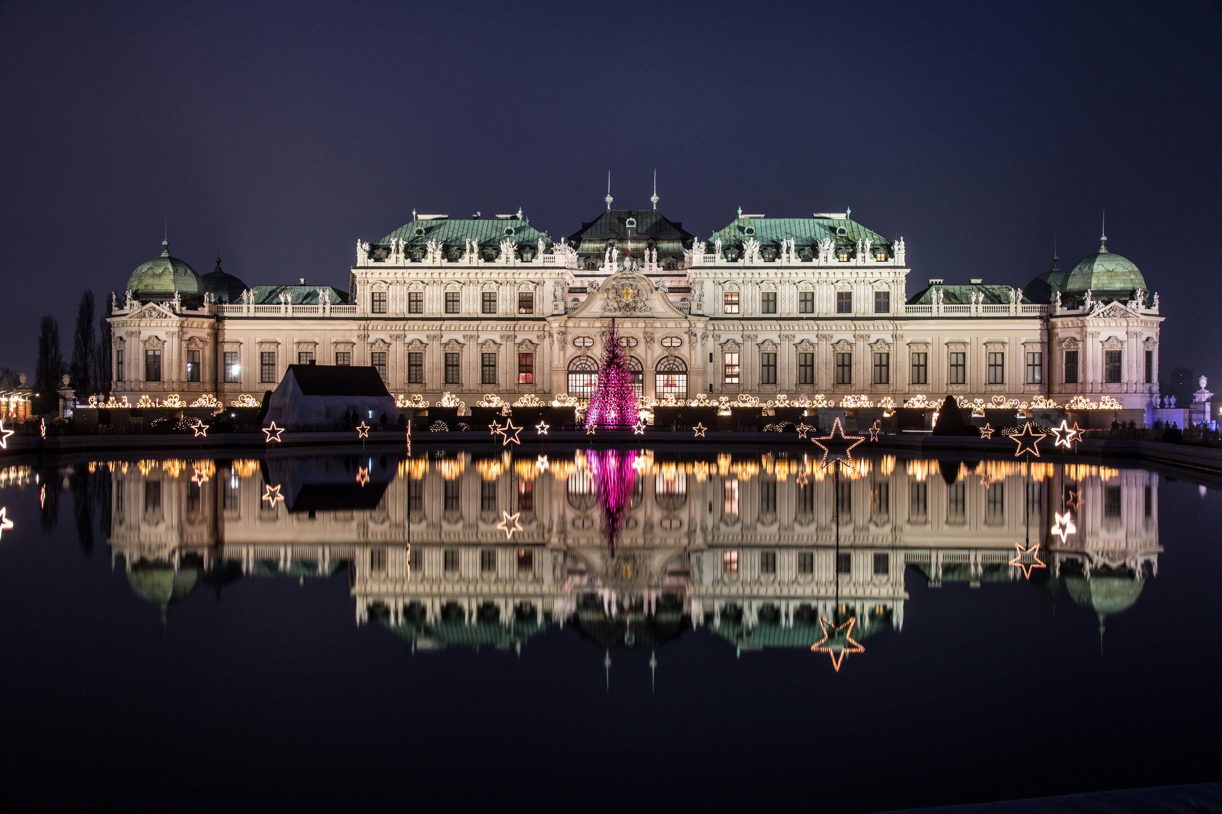 1030 Wien - Schloss Belvedere   EOS 70D - F/8 - 4 Sek - ISO 100 - 26mm