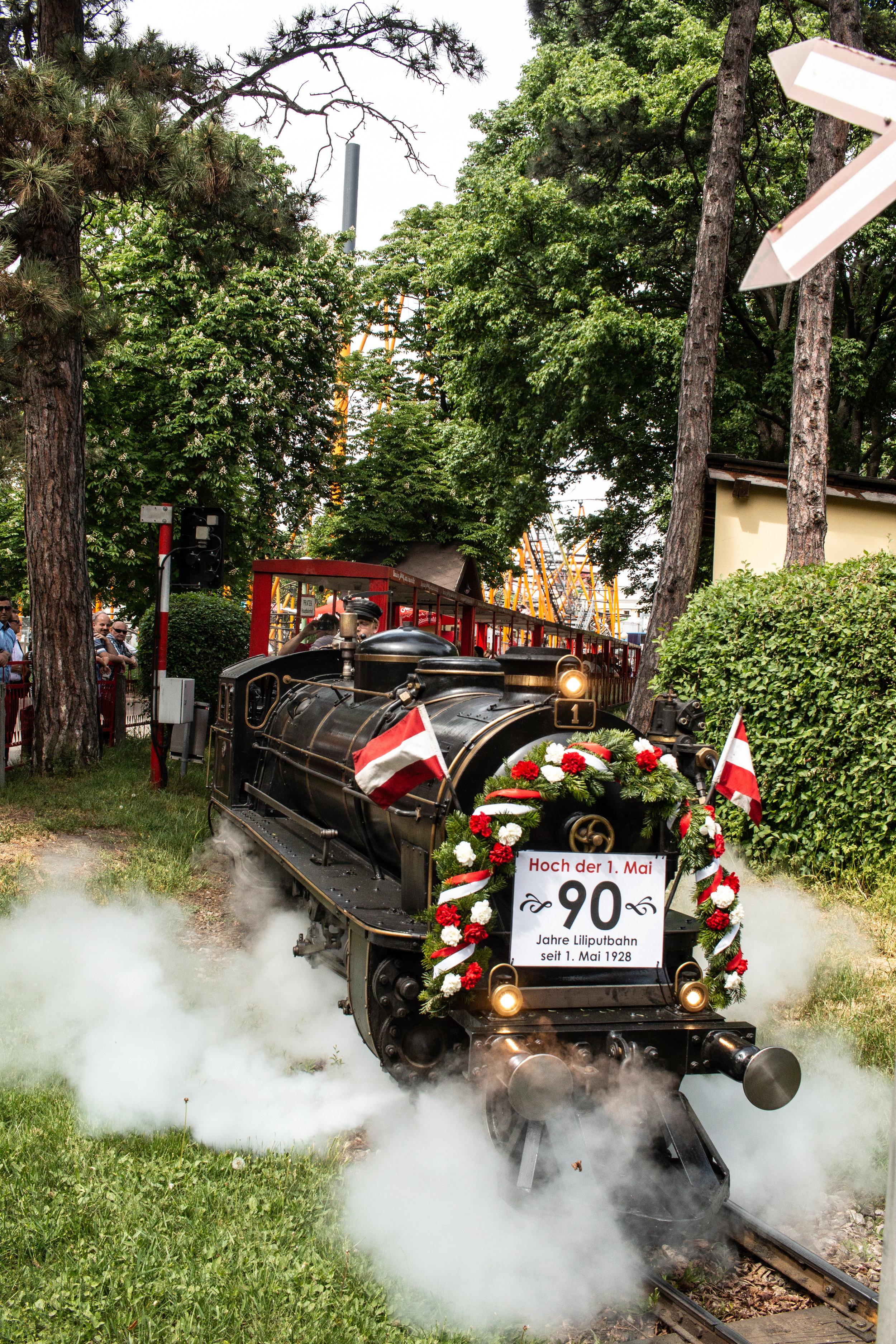 1020 Wien - Prater - Liliputbahn