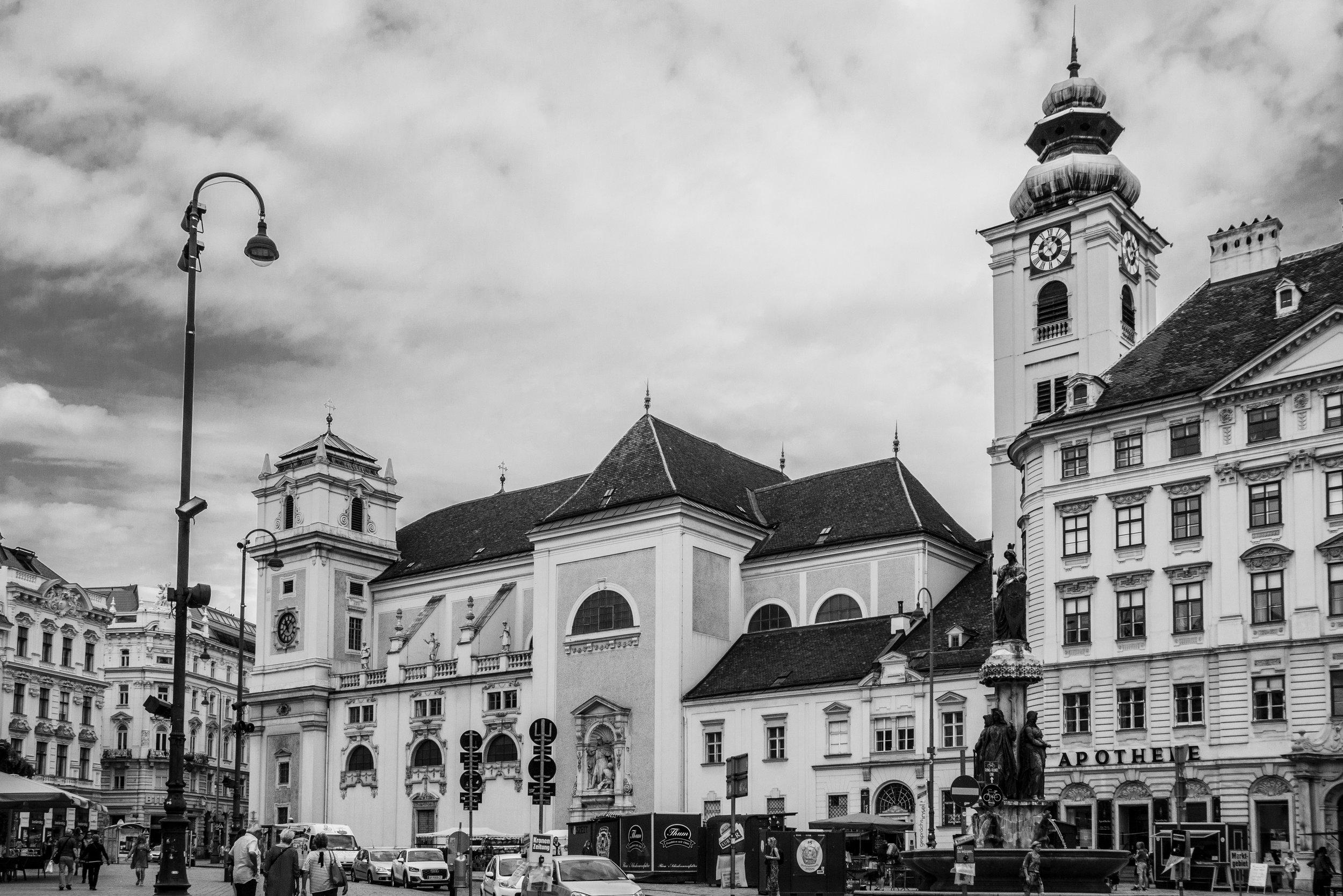 1010 Wien - Freyung - Schottenkirche