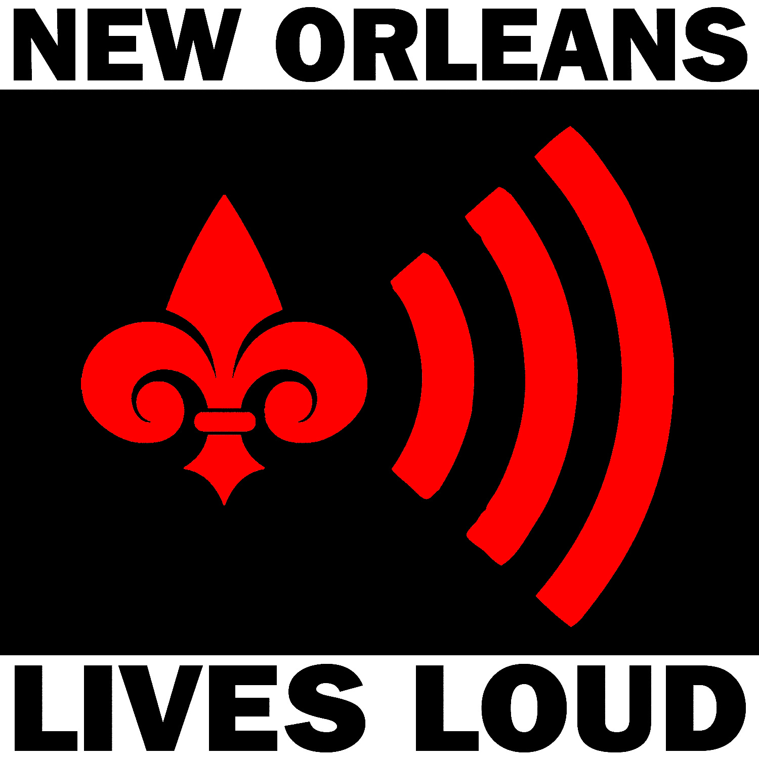 Logo and Campaign Promotions for MACCNO Nola Noise Ordinance Protest
