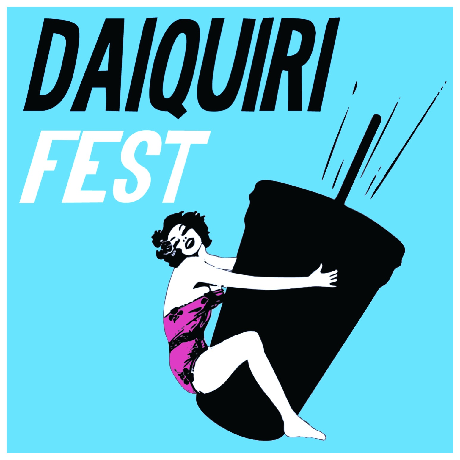 Logo Design, Promotions and Merchandise Fabrication for the New Orleans Daiquiri Festival