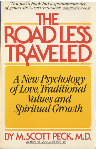 book cover, The Road Less Traveled by M. Scott Peck