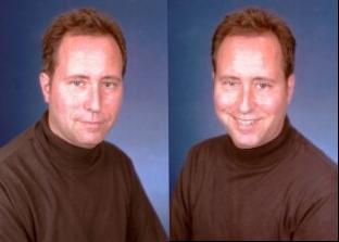 Portrait of the essayist at 45. ( acephoto.net )