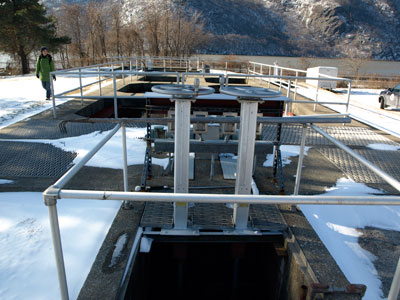 Water Treatment Plant in Cold Springs, NY