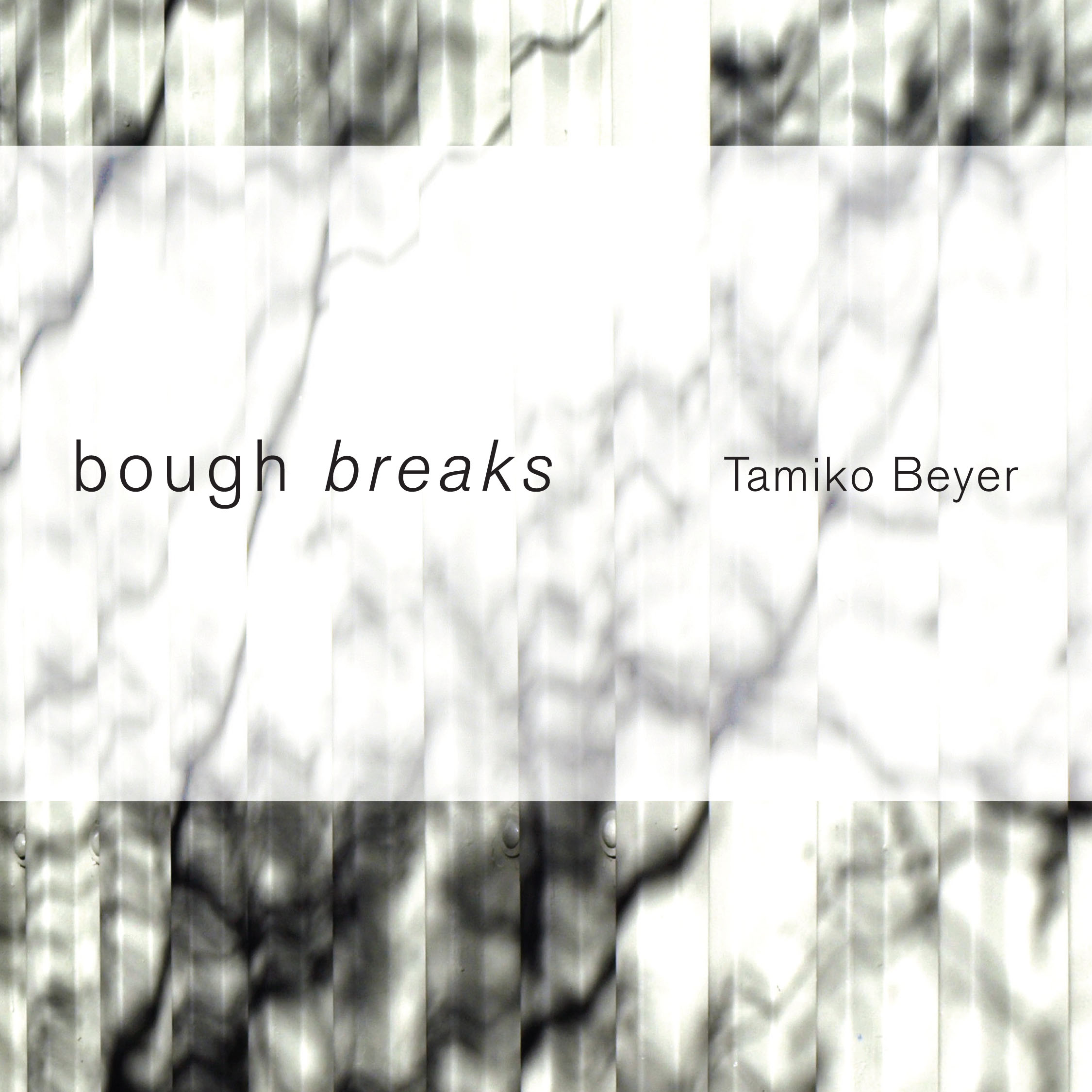 bough breaks by Tamiko Beyer - Cover