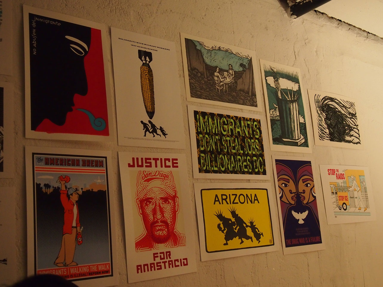 Awesome posters from AAWW's Culture Strike