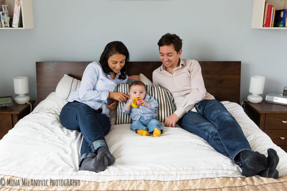 Mina Milanovic family photography, Islington, North London