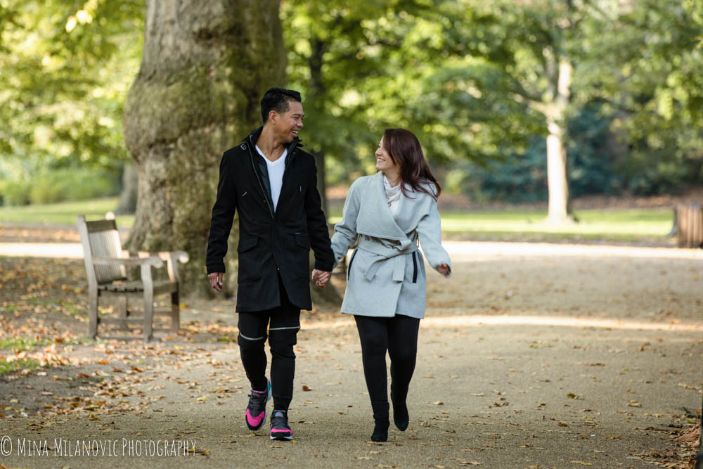 Twickenham Wedding Photographer | Engagement Photoshoot