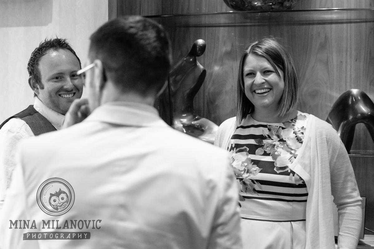 Petersham Hotel Wedding Reception / Richmond and Petersham Wedding Photographer