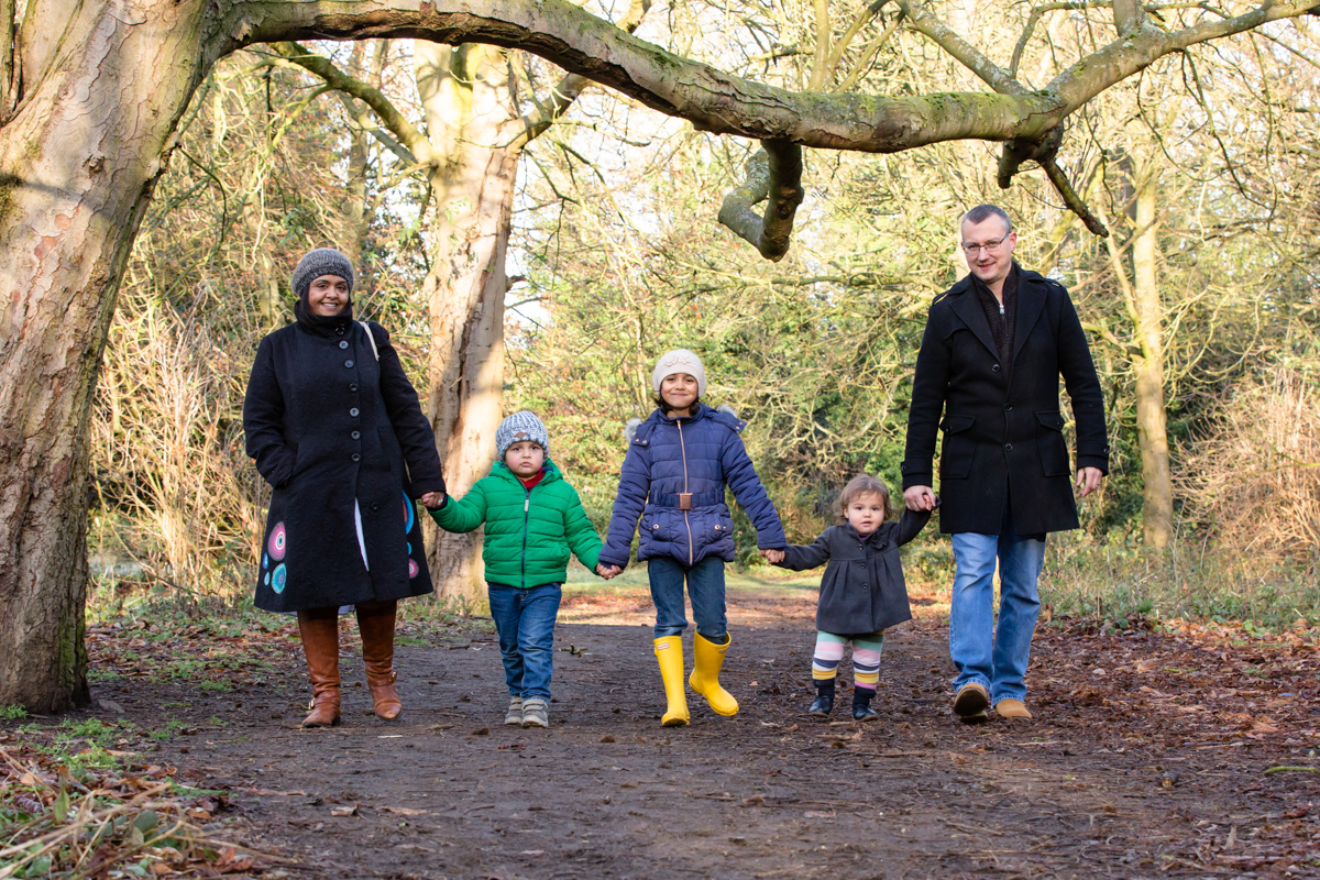 London and Surrey Family Portraits