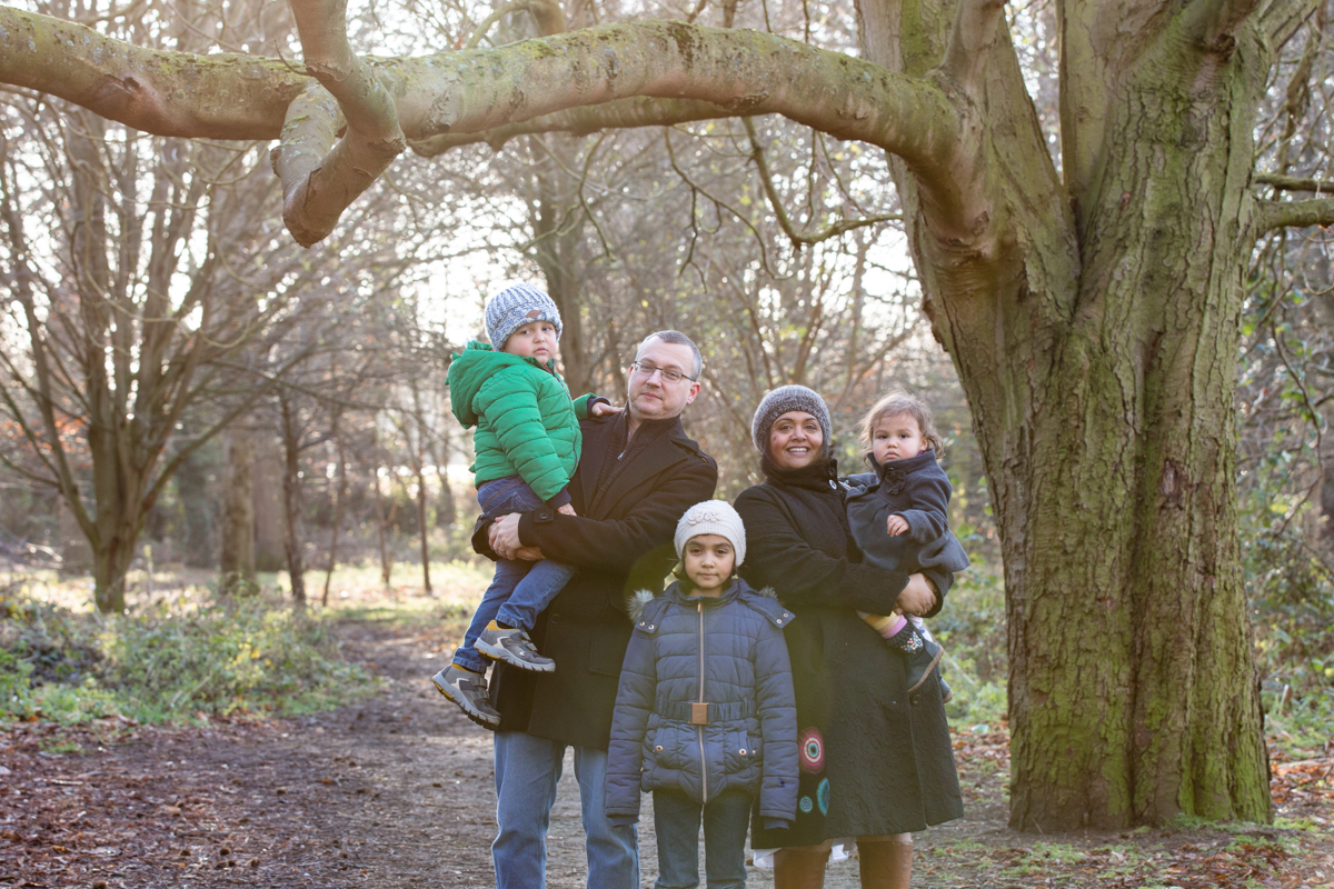Fine art family portraits London and Surrey