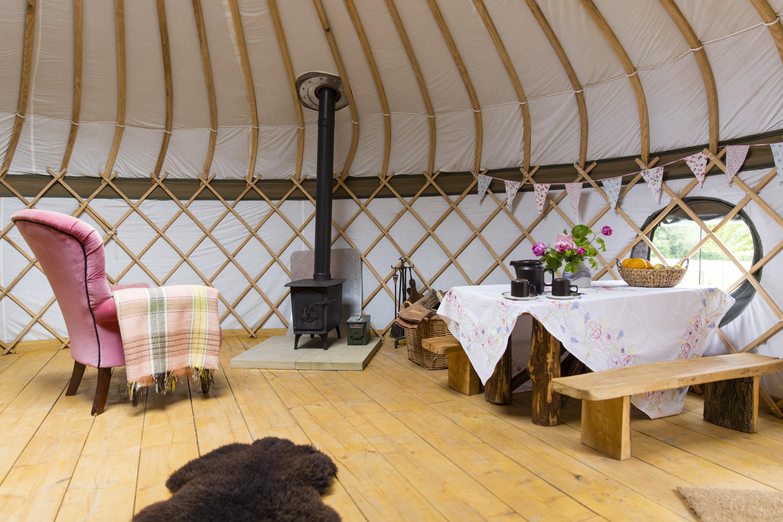 London Commercial Photographer, Surrey Hills Yurts