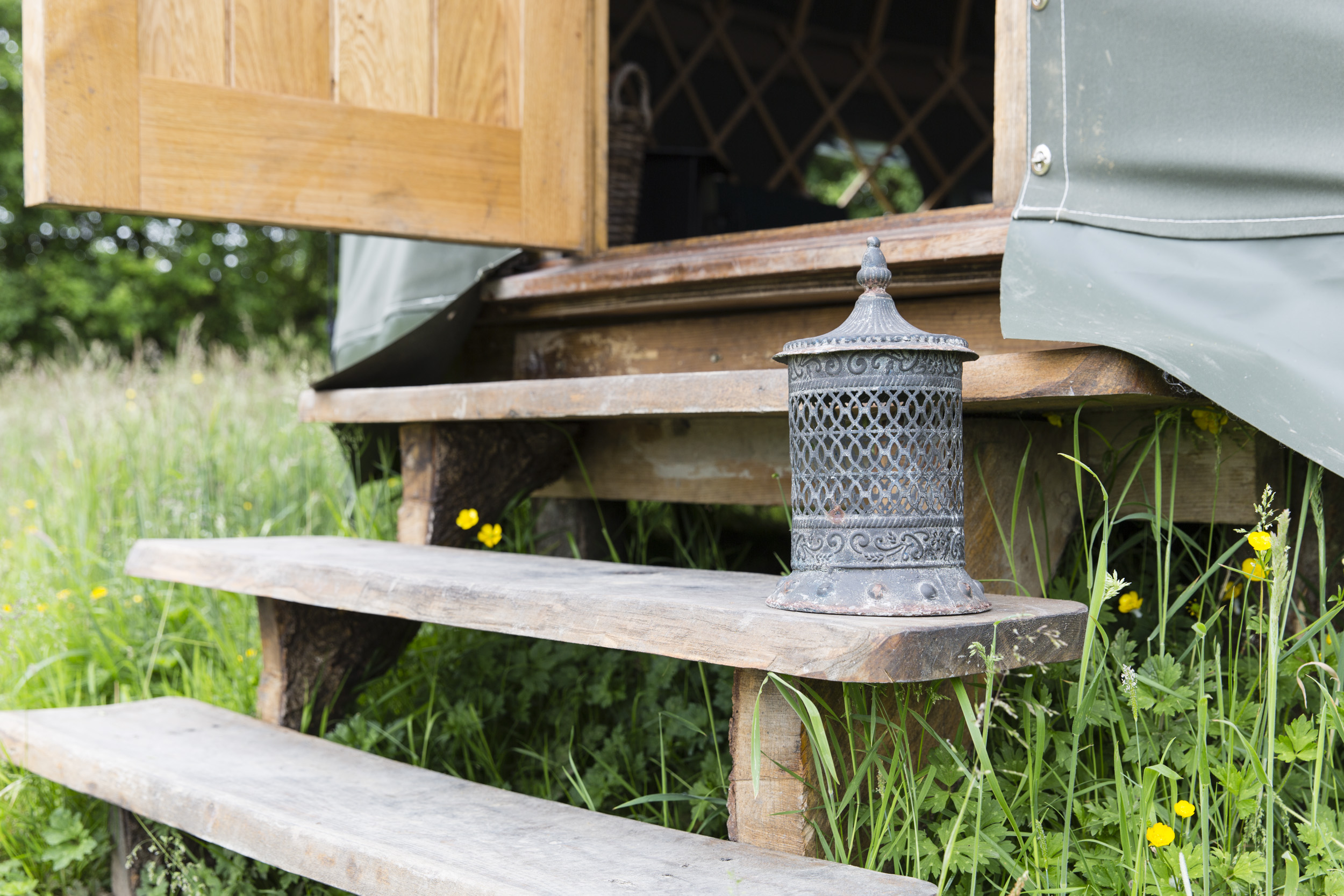 Glamping site Photography