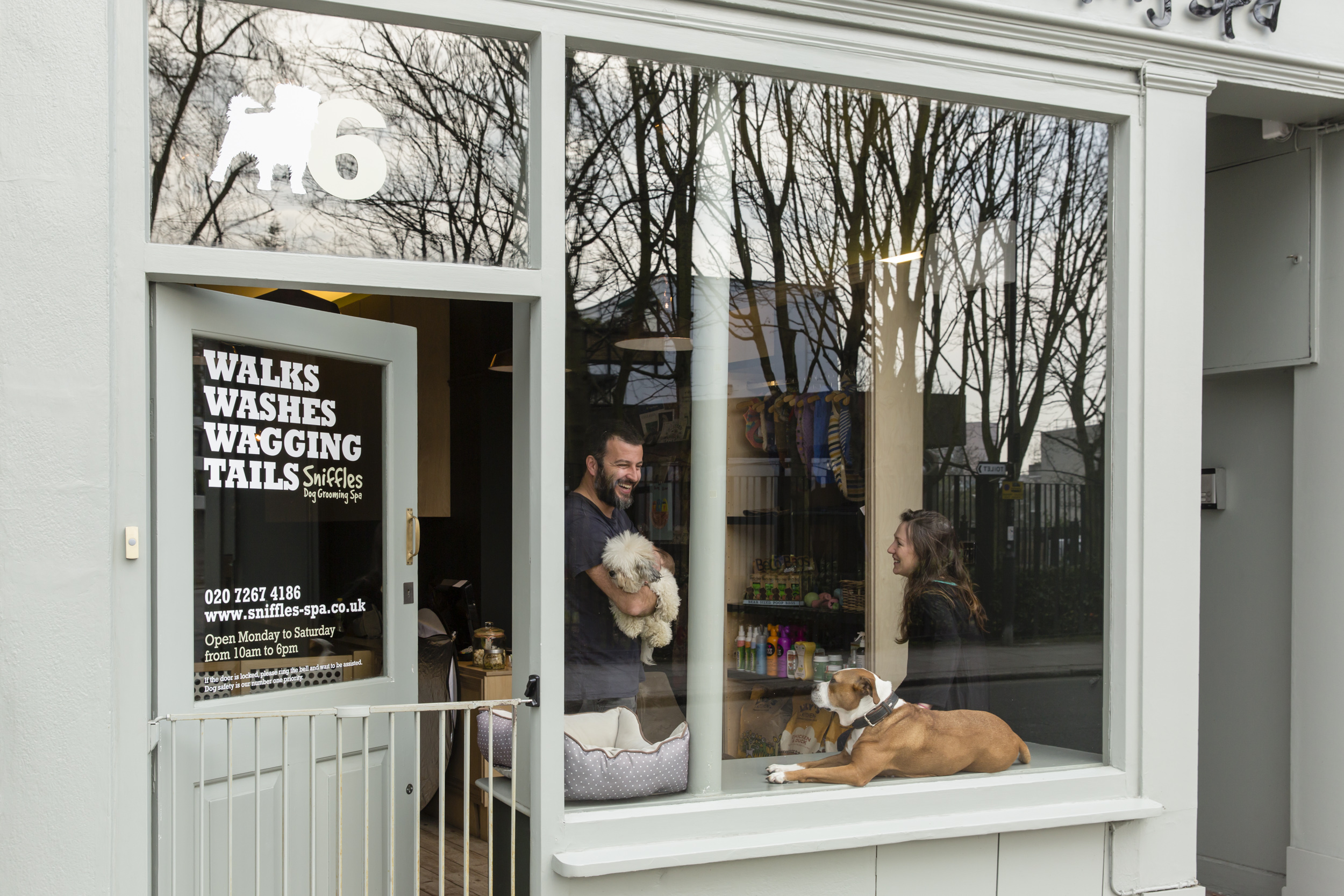 Sniffles Dog Spa and Grooming London