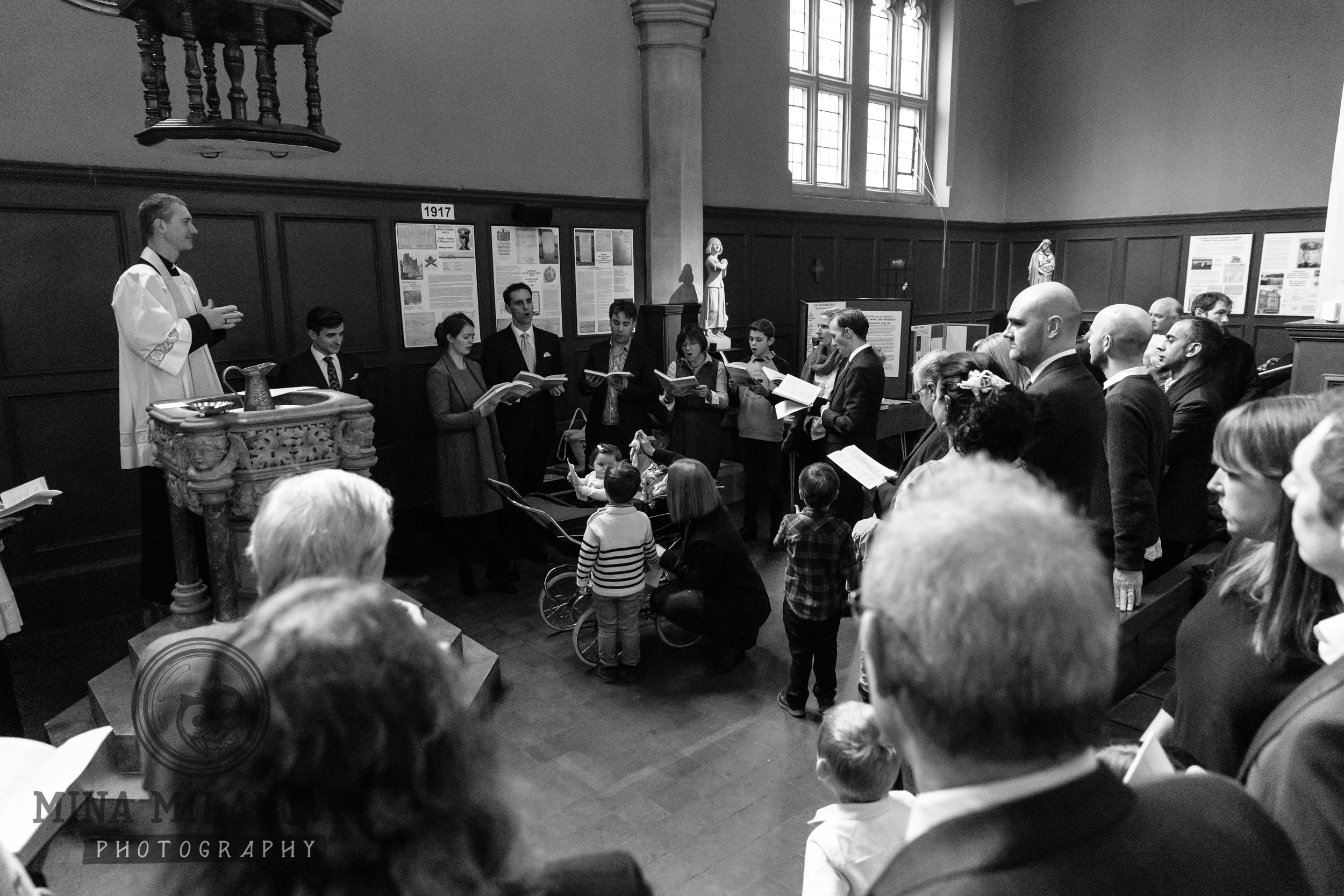 South West London Christening Photographer
